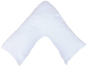 V shaped Orthopaedic Nursing Pillowcase | Neck And Back Support | Pregnancy V-shaped Pillowscase by Maria Luxury Bedding & Linen