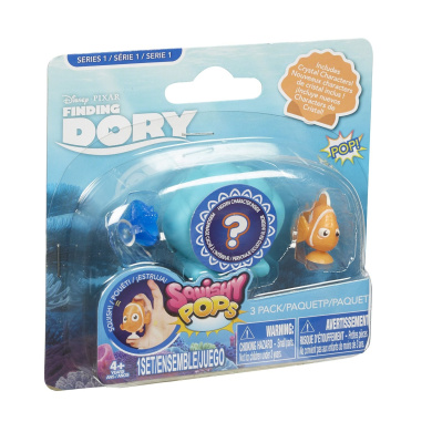 Squishy Pops Dory Squishy Pops Toy (Pack of 3)