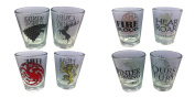 Game Of Thrones Shot Glasses Set Of 4