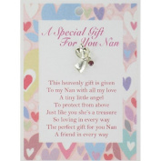A Special Gift for You NAN Guardian Angel Lapel Pin & Inspirational Message Card Gift