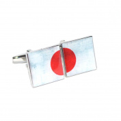 Japanese Distressed Split Flag Cufflinks X2BOCS226