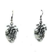 Dysfunctional Doll Anatomical Heart Earrings