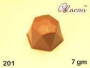 Hexagon 3D Chocolate Mould 15 Cavity