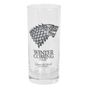 Game of Thrones 290 ml House of Stark 'Winter is Coming' Glass Mug
