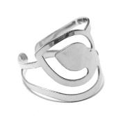 Silver Metallic Ring