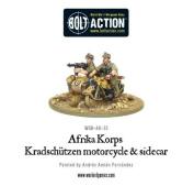 Afrika Korps Kradschutzen Motorcycle & Sidecar