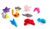 Homgaty 10 Pcs Ocean Marine Animals Finger Puppets The Perfect Birthday, Christmas Gift
