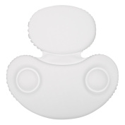 Non-slip Spa Bath Pillow Powerful Gripping 2-Panel Head, Shoulder & Neck Support
