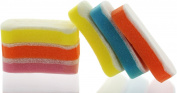 Buf-Puf KIDS Double Sided Gentle Bath Sponge - Assorted Colours