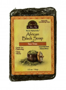 Okay African Black Soap with Tea Tree Oil, 160ml