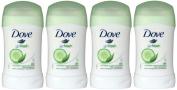 Dove Go Fresh Cucumber & Green Tea Scent, Antiperspirant & Deodorant Stick, 1.4 Oz / 40 Ml