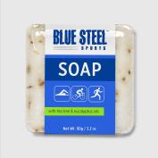 Blue Steel Sports SOAP with Tea Tree and Eucalyptus Oils - Medium - 90 g / 90ml