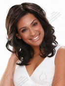 B-G Womens Natural Shoulder Length Synthetic Layered Bob Wigs Fabulous Medium Wig+A Free Wig CAP for Women Natural As Real Hair WIG025
