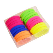 20 PCS Large Size Hair Ties Colourful Elastic Hair Ring-01