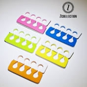 Toe Separators - Super Soft, Durable Two Tone 12 Packs