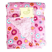 Beansprouts Micro Mink Blanket, Flower