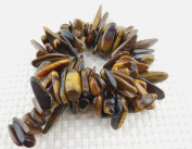 Natural Long Chips Stone Loose Gemstone Beads Strand 38cm for Jewellery DIY or Making & Design