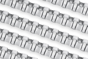 1.5m Steel Box Chain 3 mm For Diy Beading Arts and Crafts