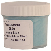 2520 Aqua Blue Enamel for Copper, Gold and Silver - 60ml/56.7g