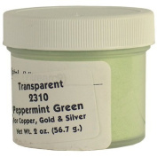 2310 Peppermint Green Enamel for Copper, Gold and Silver - 60ml/56.7g