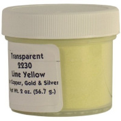 2230 Lime Yellow Enamel for Copper, Gold and Silver - 60ml/56.7g