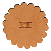 PX003 Basketweave Leathercraft Stamp