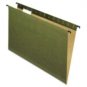 Pendaflex 615315 Poly Laminate Reinforced Hanging Folders, Legal Size - Green