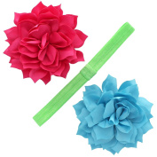 My Lello Girls Petal Blossom Hair-Clips + Interchangeable Headband