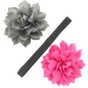 My Lello Girls Petal Blossom Hair-Clips + Interchangeable Headband
