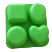 4 Hole Craft Silicone Mould