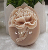 Creativemoldstore 1pcs Carnation (ZX555) Craft Art Silicone Soap Mould Craft Moulds DIY Handmade Soap Mould