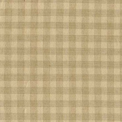 Marcus Fabric Christmas Primo Cotton Flannel Plaid Tan Box Plaid
