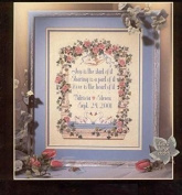 Love Vows counted cross stitch, cotton thread , 14ct 180x220 stitch 43x50 cm counted cross stitch kits