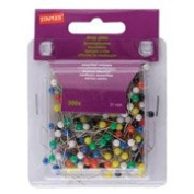 Staples Map Pins, Size 21