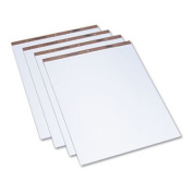 Easel Pads, Quadrille Rule, 27 x 34, White, 50-Sheet Pads, 4 Pads/Carton, Sold as 4 Pad