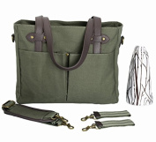 SoYoung Emerson Nappy Tote, Khaki Green