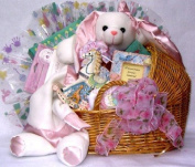 Gift Basket Village Special Delivery Baby Boy Gift Basket, Small