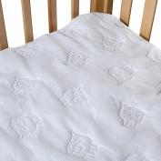BB Basics Waterproof Flat Crib Pad Cover