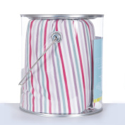 KicKee Pants Baby Girls Fitted Crib Sheet, Fairytale Stripe, One Size