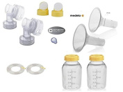 Medela Replacement Kit for all medela pump in style models; starter kit.. and pump in style advanced (except advanced pumps made before 7/2006) - Breastshield 27mm