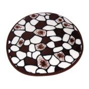 Fullkang Memory Foam Mat Bath Rug Shower Non-slip Floor Carpet 30*30CM