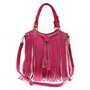 Fringe Chain Tassels With Adjustable Strap Women's Concealed Carry Handbag