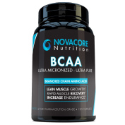 BCAA Capsules 1650mg - Branched Chain Amino Acids Supplement for Workout Recovery, Optimal Fitness Performance, Lean Muscle Growth and Better Endurance - Made in USA