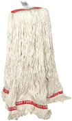 Rubbermaid Commercial FGA11306WH00 Web Foot Antimic Wet Mop, Large, 2.5cm White Headband, White Rubbermaid Commercial