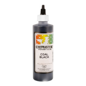Chefmaster by US Cake Supply 310ml Liqua-Gel Cake Food Colouring Coal Black