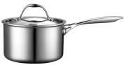 Alegus Cooks Standard Multi-Ply Clad Stainless-Steel 2.8l Covered Sauce Pan