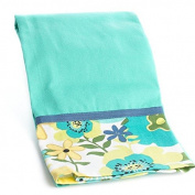Factory Direct Craft® Trio of Durable Olivia Floral Border Cloth Kitchen Towels for Displaying, Everyday and Gifting