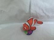 Disney Finding Nemo Marlin Fish PVC Figure 7.6cm Christmas Tree Ornament Figurine Toy