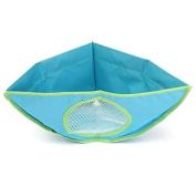 Baby Kids Bath Tub Waterproof Toy Hanging Storage Triangle Bag Organiser Holder