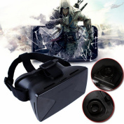 3D-02 3D Video Glasses VR Virtual Reality Headset For 4.0 To 17cm Google Android iPhone
